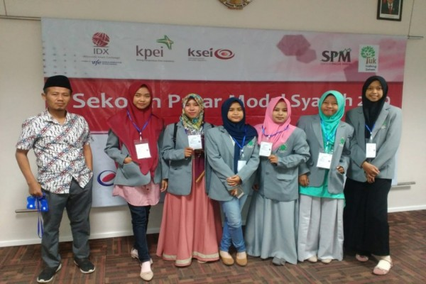 Mahasiswa STEI KASSI Ikuti Ajakan BEI  Yuk Nabung Saham Di Sekolah Pasar Modal Syariah 2019